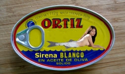 tinned mermaid in olive oil