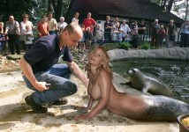 sealmaid at the zoo